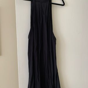 Reformation Dresses - Reformation black trapeze dress vintage